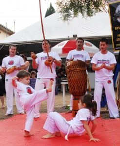 Apresentação de Capoeira Pedagógica