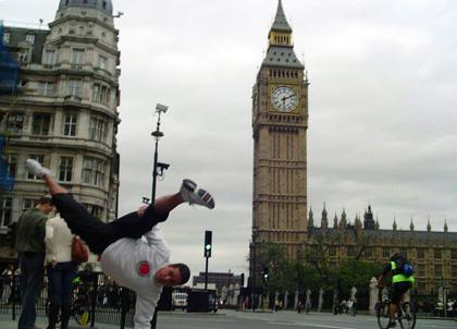 Instrutor Fábio - Inglaterra - 2007