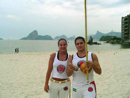 Keilla Cristiany e Fábio André Castilha, no Rio de Janeiro